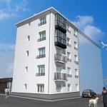 appartement neuf ascenseur dalle béton