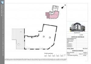 appartement plateau de 121 m2 brest centre