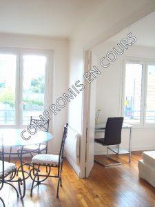 grand appartement T4 rénové à brest rive droite dalle béton