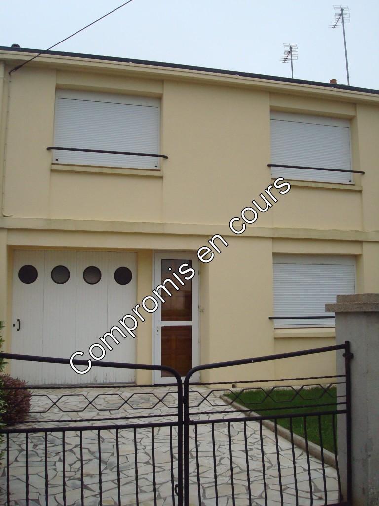 maison lambezellec, 3 chambres, séjour, cuisine garage
