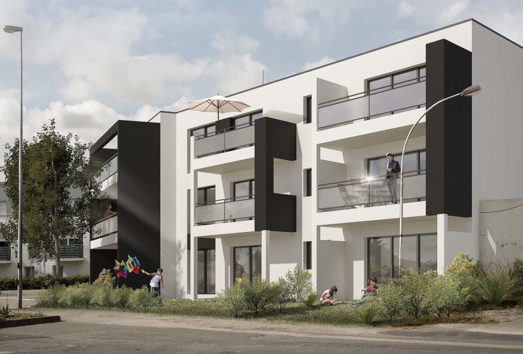 Programme d'appartements neufs, loi pinel et autres investissements du T2 au T4 le relecq kerhuon proche mer