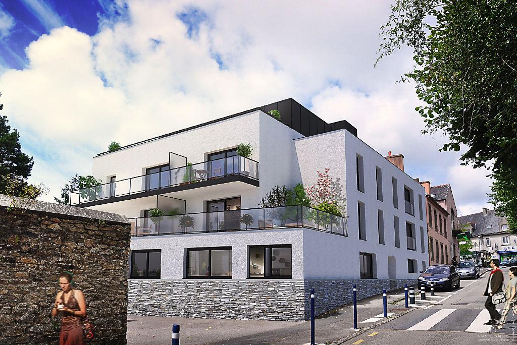 Appartement t2 neuf de 40 9 m2 au centre de bohars 138 for Agence immobiliere appartement neuf