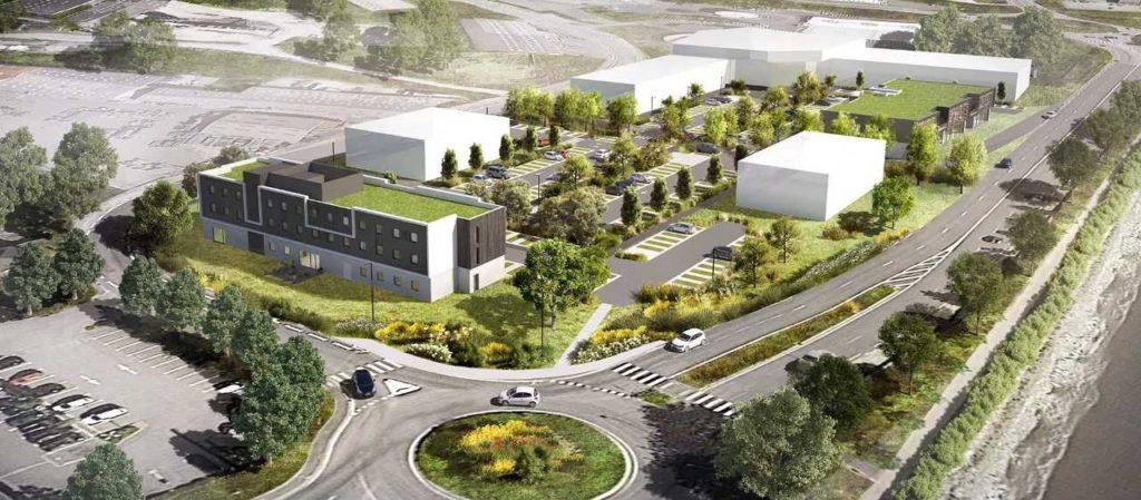 local commercial 488 m² landerneau, à vendre immobilier landerneau, immobilier brest