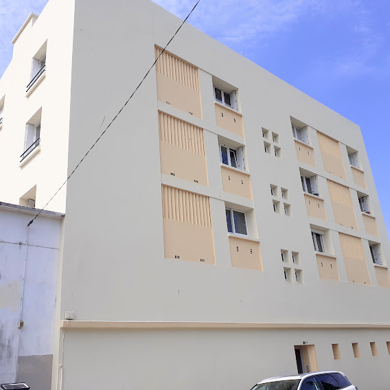 brest centre ville appartement T4 dalle béton