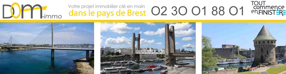 Brest Appartement Maison - Dom Immo  : Agence immobilière Brest