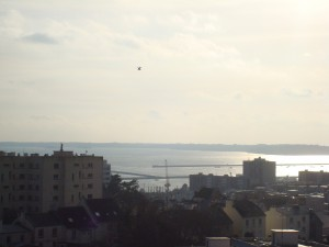 Brest saint marc appartement T4 ascenseur vue mer garage