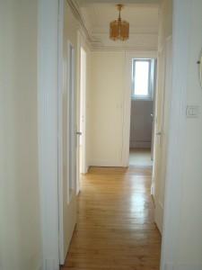 appartement 2 chambres, dalle béton, balcon possibilité garage au centre ville de brest