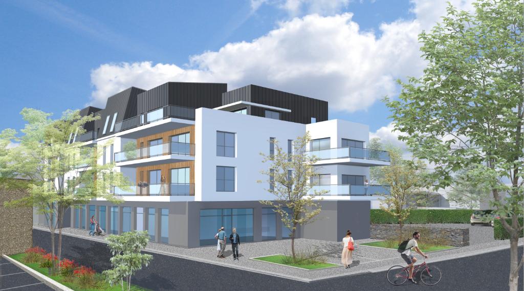 Locaux commerciaux, bureaux, locaux professionnels Landivisiau centre dans immeuble neuf