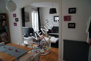 Appartement T4 2 chambres 1er étage brest centre