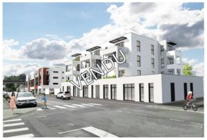 appartements neufs du T3 Landerneau centre ascenseur parking terrasse BBC